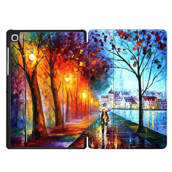 "EG MTT Hülle für Samsung Galaxy Tab S5e 10.5"" 2019 - Canvas Landschaft"