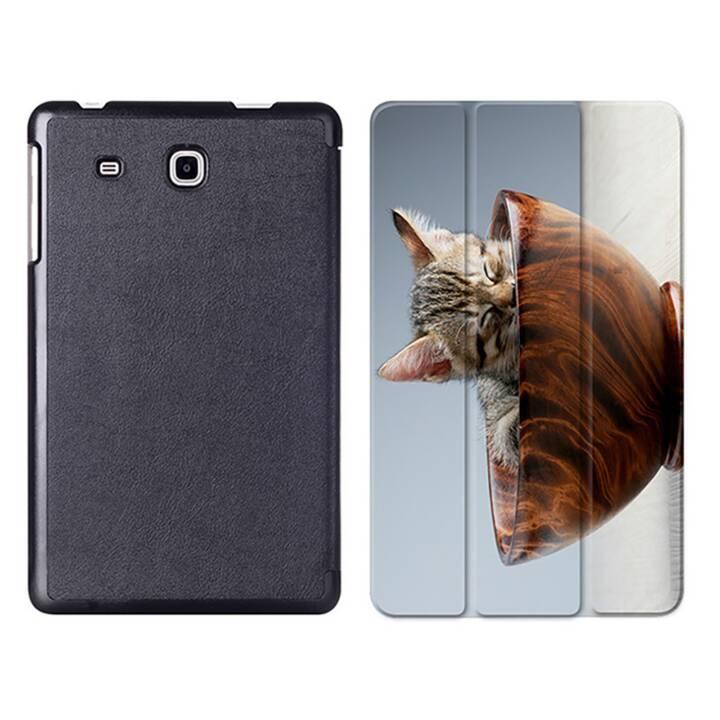 """EG MTT Tablet Tasche mit Smart faltbare Abdeckung für Samsung Galaxy Tab A A6 7 """"- Cat"""