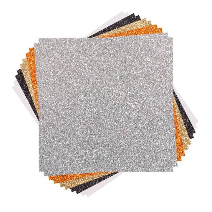 CRICUT Carta patinata (Beige, Nero, Grigio, Arancione, Bianco)