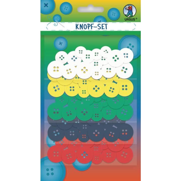 URSUS Button Mix 1 pezzo, colorato