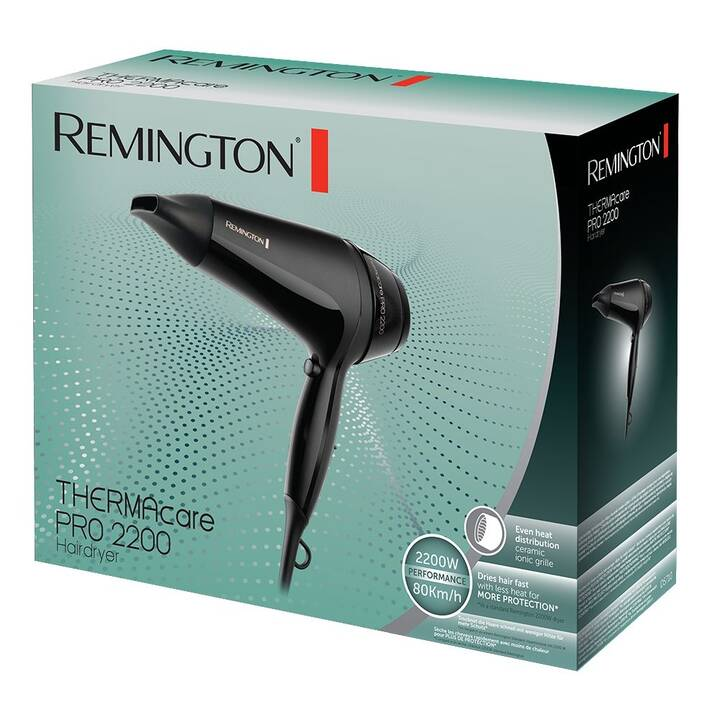 REMINGTON D5710 Thermacare Pro 2200 (2000 W, Schwarz)