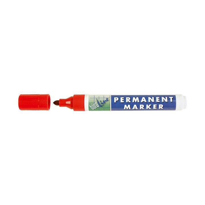 BÜROLINE Permanent Marker rot