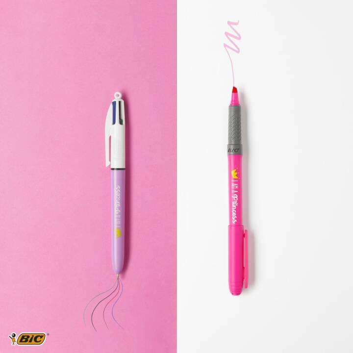 BIC Stylo à bille My Message Kit Princess  Pink , Multicolore