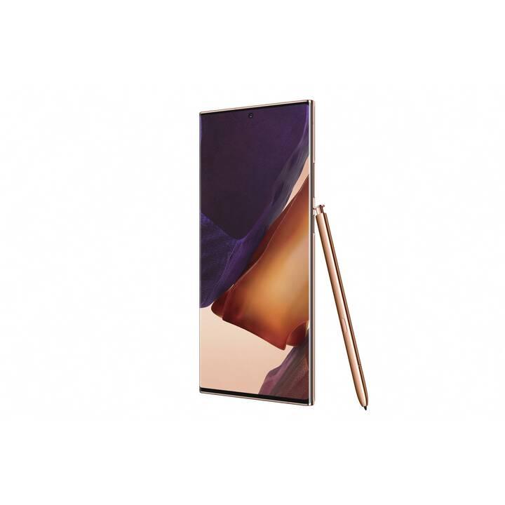 "SAMSUNG Galaxy Note20 Ultra (5G, 6.9"", 256 GB, 108 MP, Mystic Bronze)"