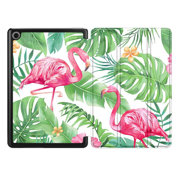 "EG MTT Coque pour HUAWEI MediaPad M6 8.4"" 2019 - flamingo"