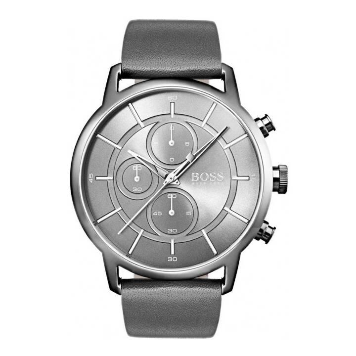 HUGO BOSS 1513570 (44 mm, Orologio analogico, Quarzo)