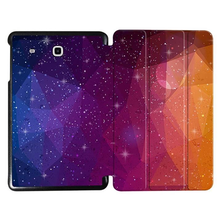 """EG MTT Sacoche à comprimés avec étui Smart pliable pour Samsung Galaxy Tab E 9.6"""" Tablet - Orange"""