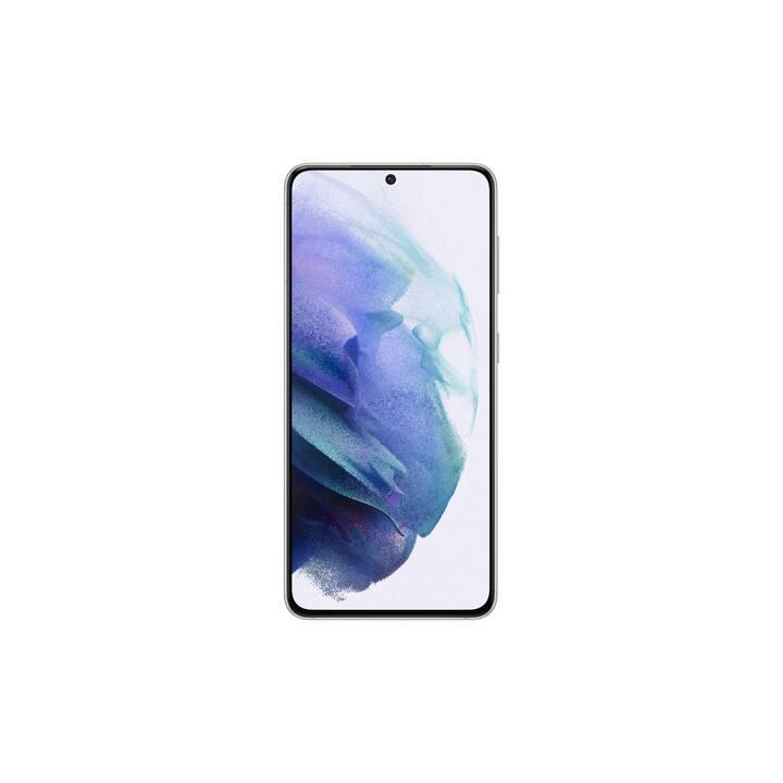 "SAMSUNG Galaxy S21 (5G, 6.2"", 128 GB, 64 MP, Phantom White)"