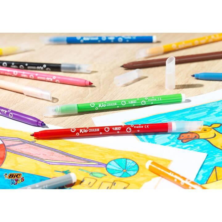 BIC Kid Couleur, 18 penne in feltro
