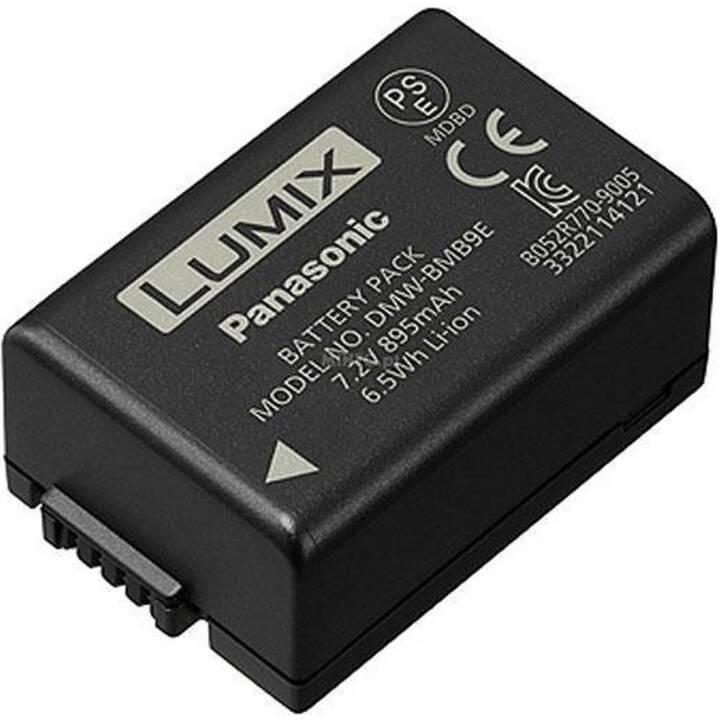 PANASONIC DMW-BMB9E Batterie de l'appareil photo, noir