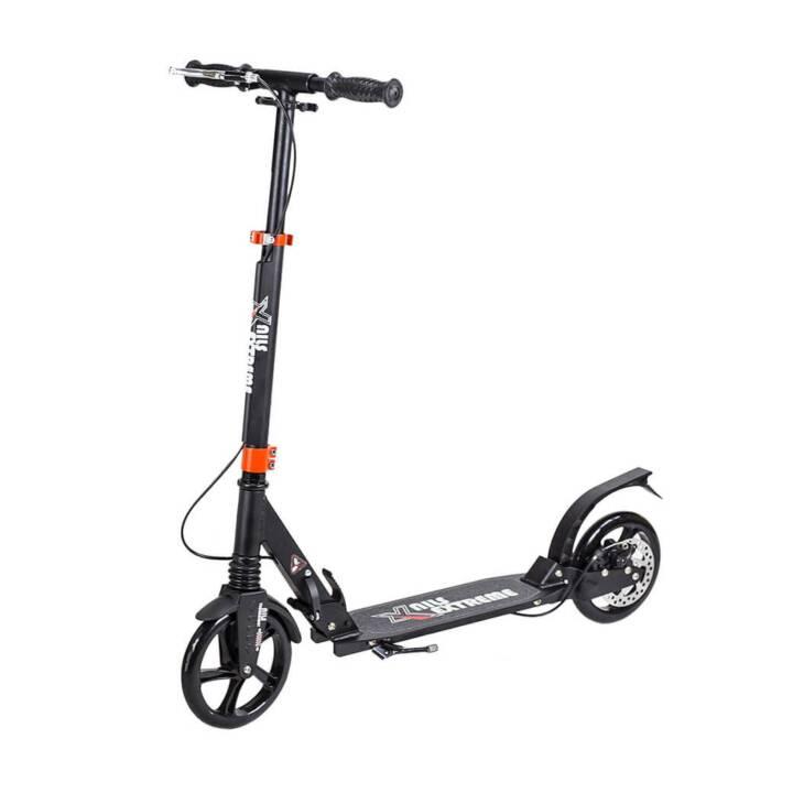 NILS Scooter Extrem + Handbrake (Schwarz)