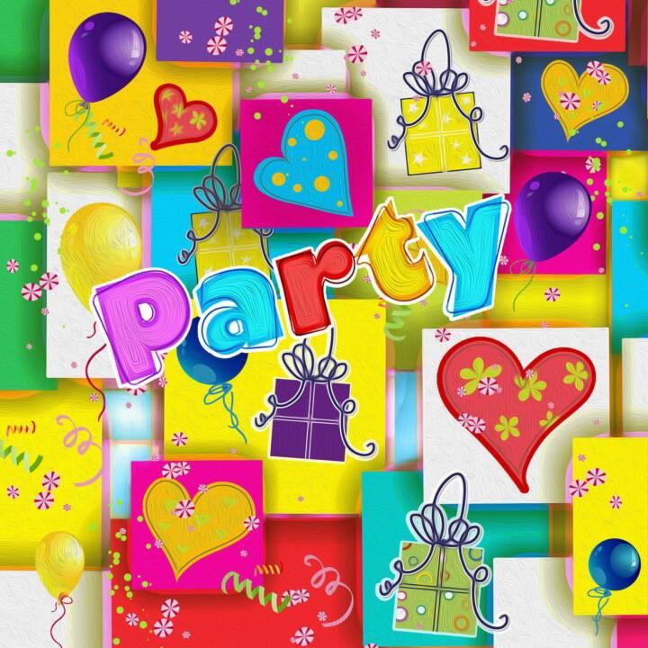 PAPSTAR Tovagliolo di carta Party Mix (20 Stk, Compleano)