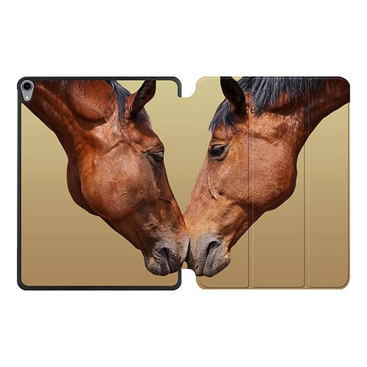 """EG MTT Coque pour iPad Pro 12.9"""" 2018 - cheval"""