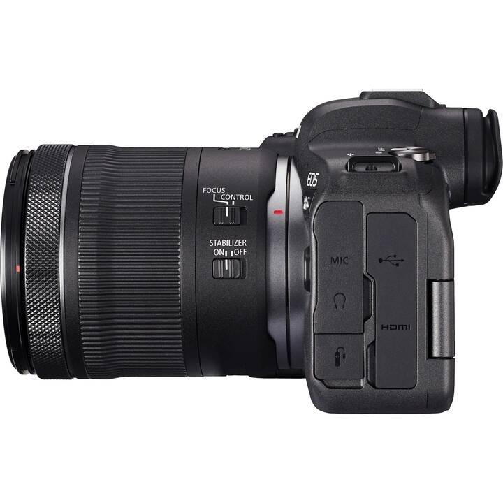CANON EOS R6 + RF 24-105mm F4-7.1 IS STM Kit (20.1 MP, Plein format)