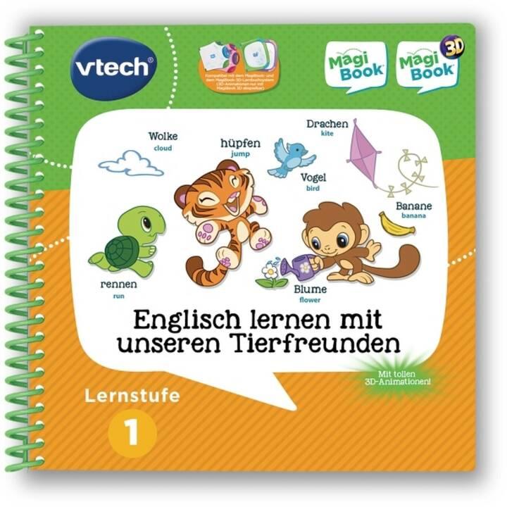 VTECH Magibook: Englisch lernen mit unseren Tierfreunden 3D (Deutsch)