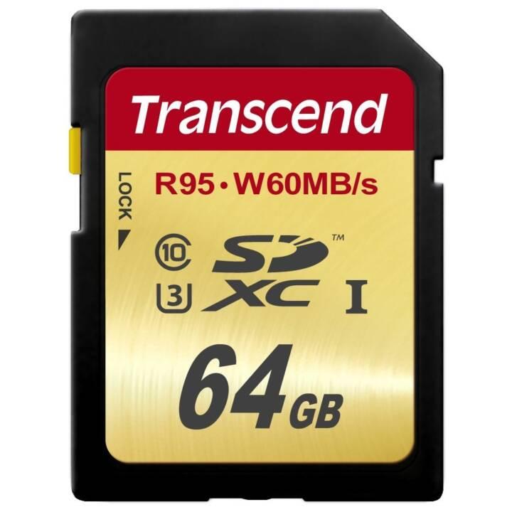 TRASCENDERE SDXC 64 GB