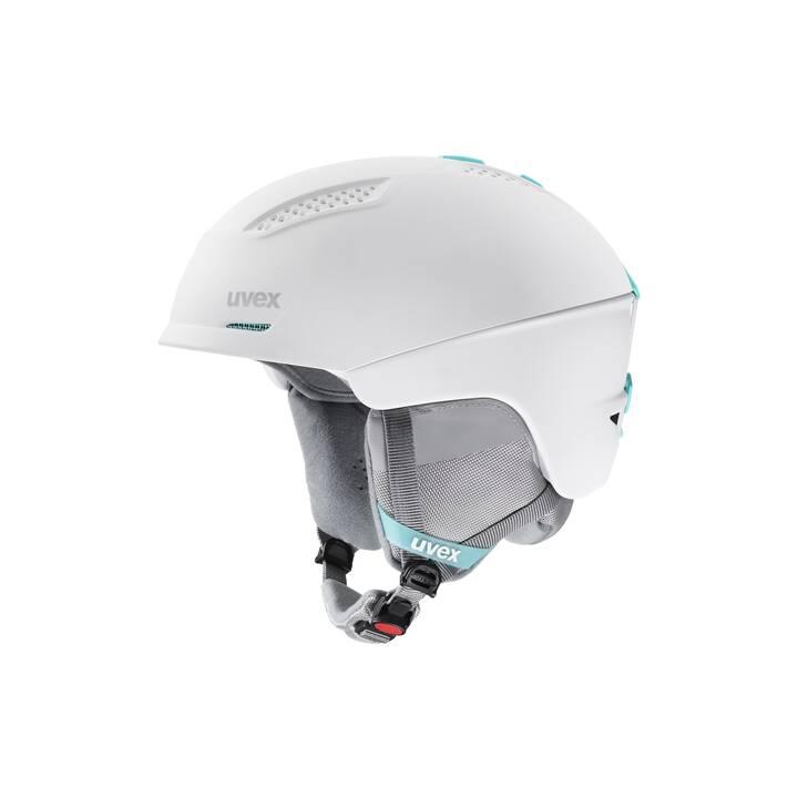 UVEX Casco da sci (S, Bianco)