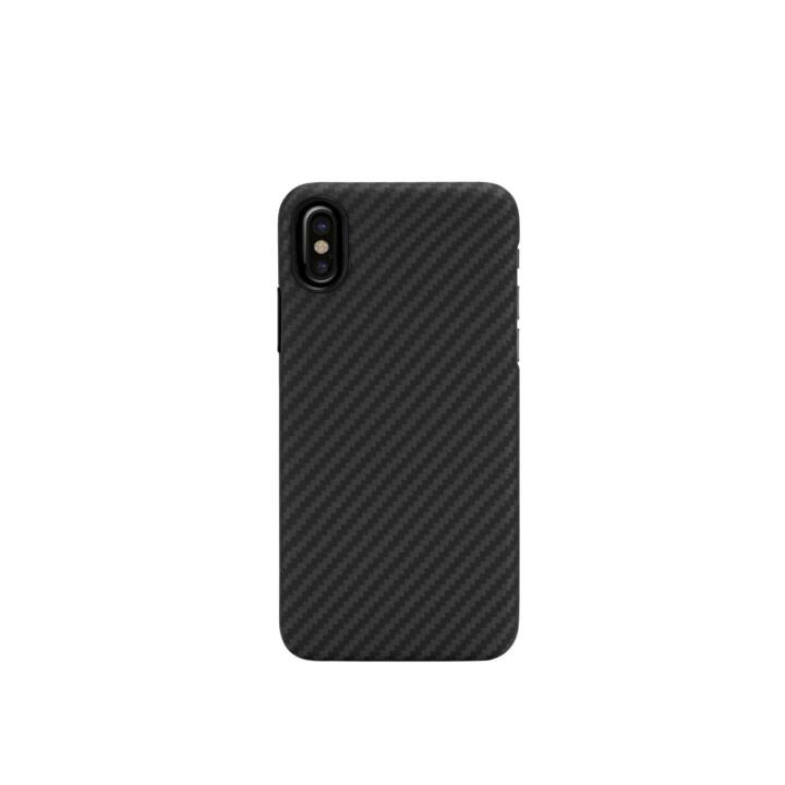 IPITAKA Backcover Aramid (iPhone X, Nero)