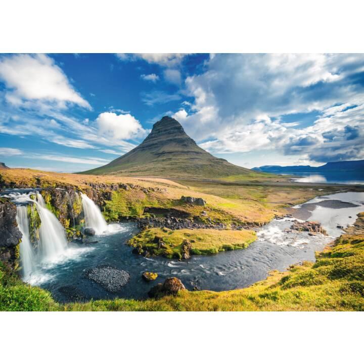 RAVENSBURGER Wasserfall vor Kirkjufell Island Puzzle