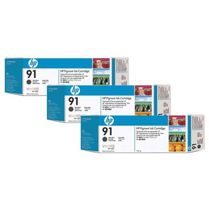 HP 91 Multipack a 3 inchiostri