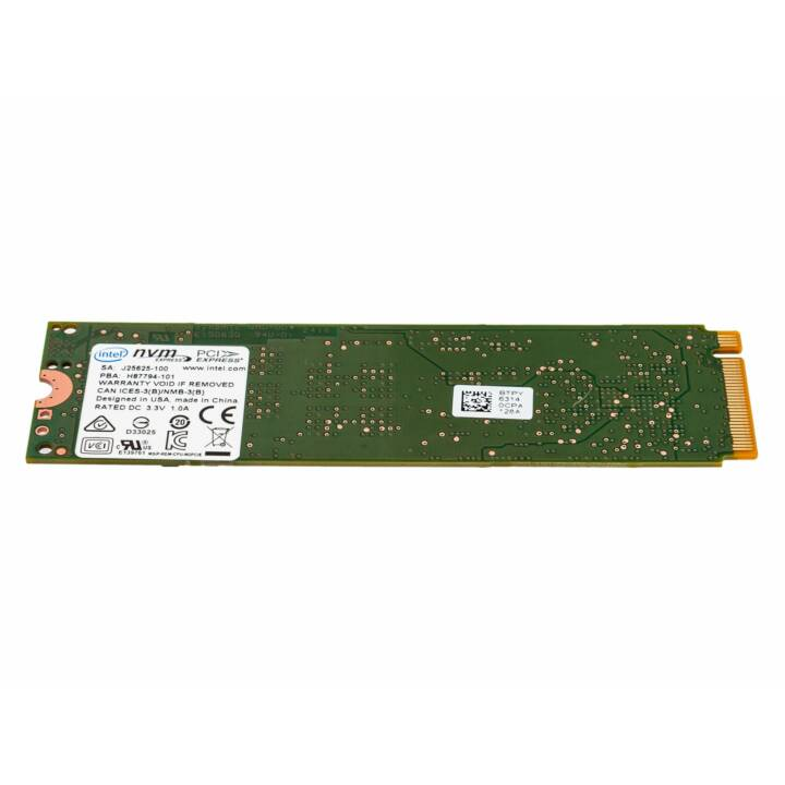 INTEL E 6000p (PCI Express, 128 GB, Grün)