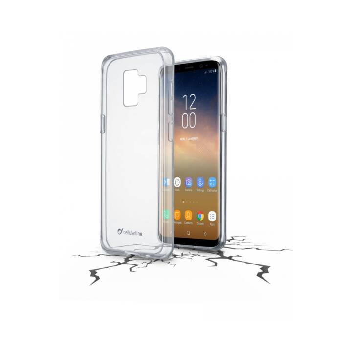 CELLULAR LINE Backcover, S9+, transparent