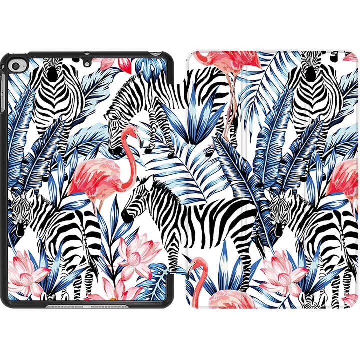 EG MTT Coque pour iPad Mini 4 (2015) et Mini 5 (2019) - flamingo