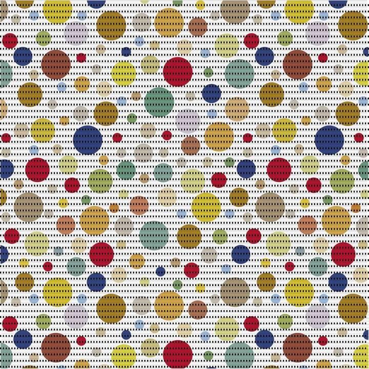 D-C-FIX Tapis de bain Modern Bubbles (Multicolore)