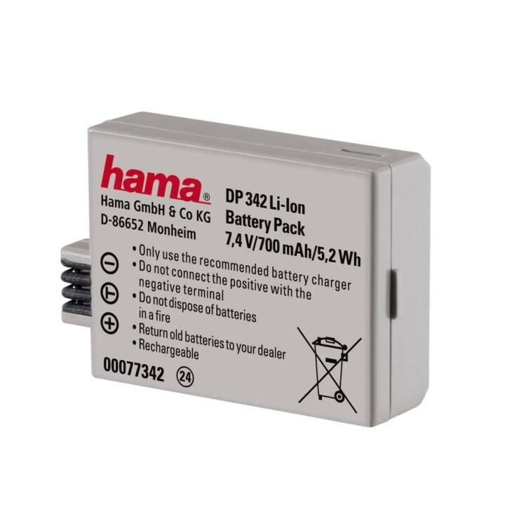 HAMA DP 342 Li-Ion Kamerabatterie, 700 mAh
