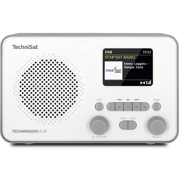 TECHNISAT Techniradio 6 IR Radio digitale (Bianco)