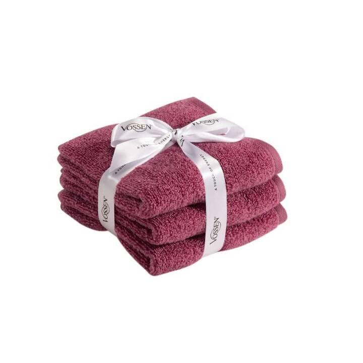 VOSSEN Lavette Smart Towel (30 cm x 30 cm, Pink)