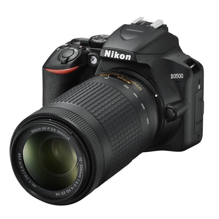 NIKON DSG D3500 + AF-P 18-55 mm VR & 70-300 mm VR