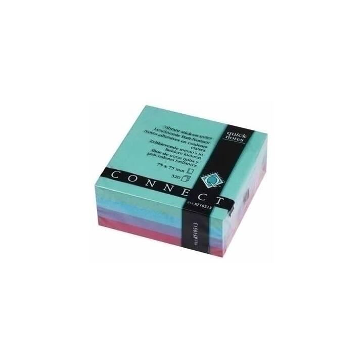 2x 100 3M Haftnotizen notes Q-Connect Klebezettel 76 x 76 mm gelb