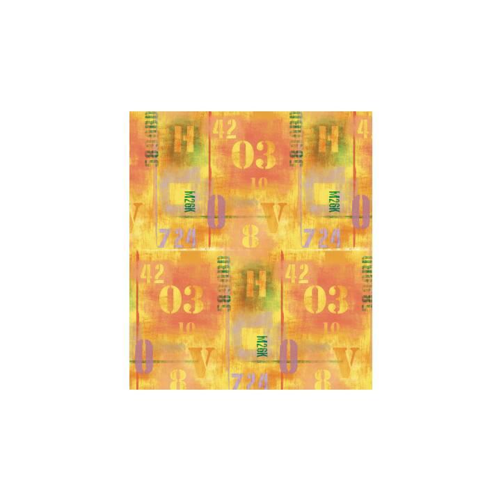 NEUTRAL Papier pour couvrir les livres Orange (50 cm x 3 m)