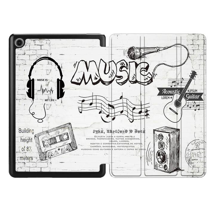 """EG MTT Etui pour pour HUAWEI MediaPad M5 Lite 10.1"""" 2018 - peinture à la main"""