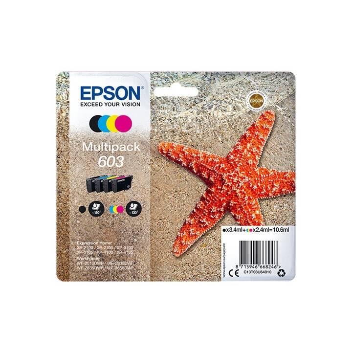 EPSON 603 (Ciano, Magenta, Giallo, Nero, 4 pezzo)