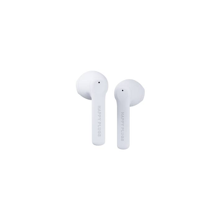 HAPPY PLUGS Air 1 Go (In-Ear, Bluetooth 5.0, Bianco)