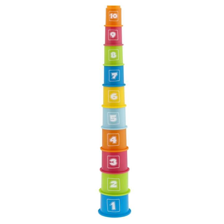 Torre dei numeri CHICCO per l'impilaggio