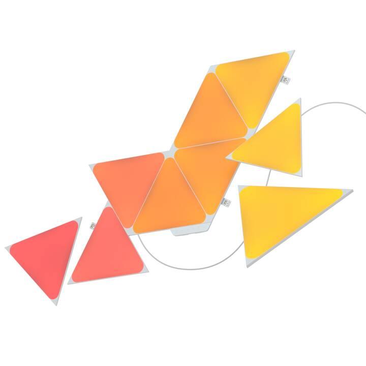 NANOLEAF Luce d'atmosfera LED Shapes Triangles Starter Kit (Multicolore)