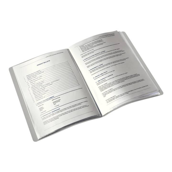 LEITZ Dossiers chemises Style (Noir, A4, 1 pièce)