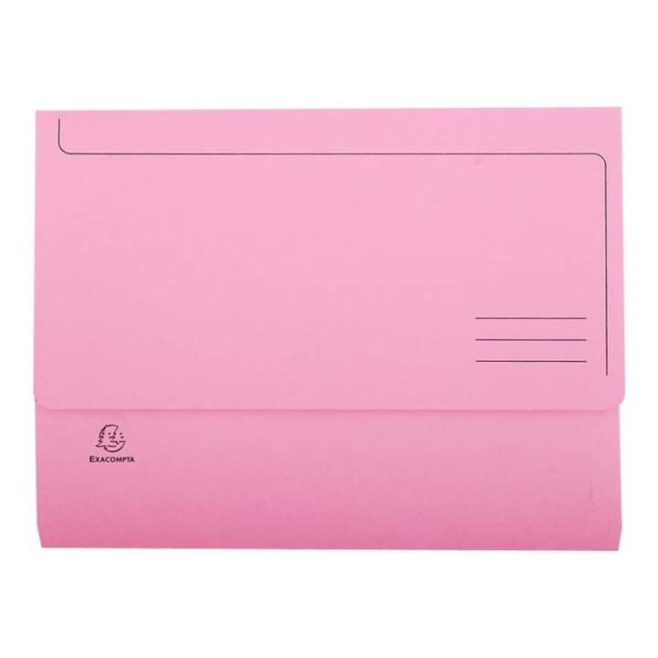 Cartella EXACOMPTA A4 rosa rosa 10 pezzi