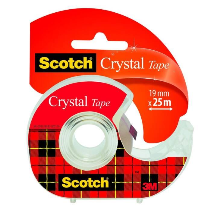 Bande adhésive 3M Crystal 19 mm x 25 m Clair