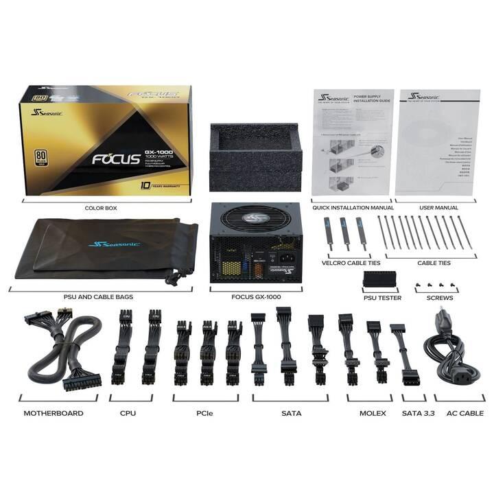 SEA SONIC ELECTRONICS FOCUS GX-1000 (1000 W)