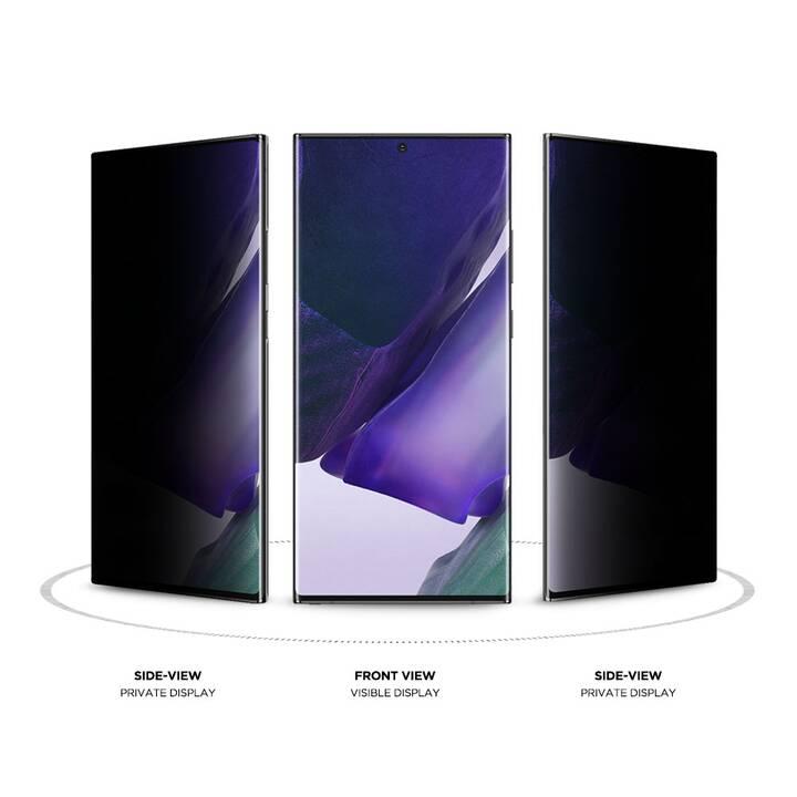 EIGER Displayschutzglas 3D Privacy Glass (Galaxy Note 20 Ultra, Galaxy Note 20 Ultra 5G)