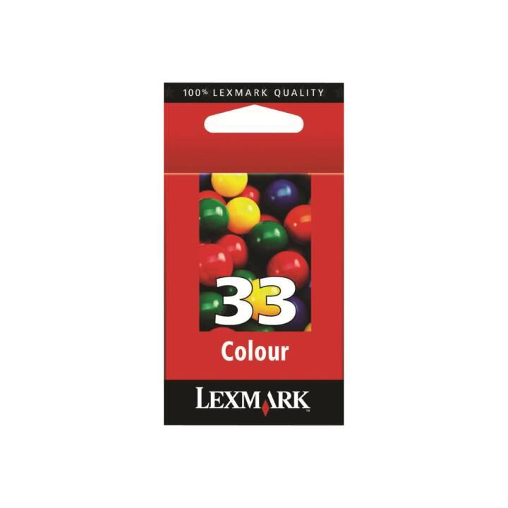 LEXMARK Cartridge No. 33 Multipack