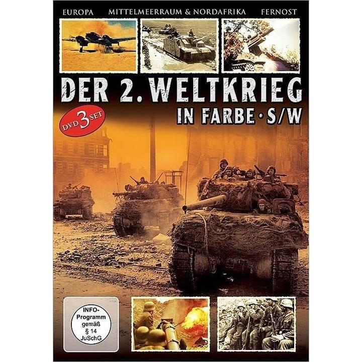 Der 2. Weltkrieg - Europa / Mittelmeerraum & Nordafrika / Fernost (DE)