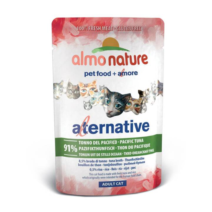 ALMO NATURE HFC Alternative (Adulto, 1 x 55 g, Tonno)