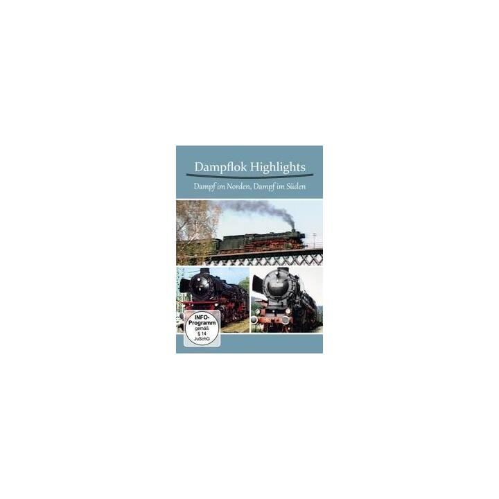 Dampflok Highlights - Dampf im Norden, Dampf im Süden (DE)