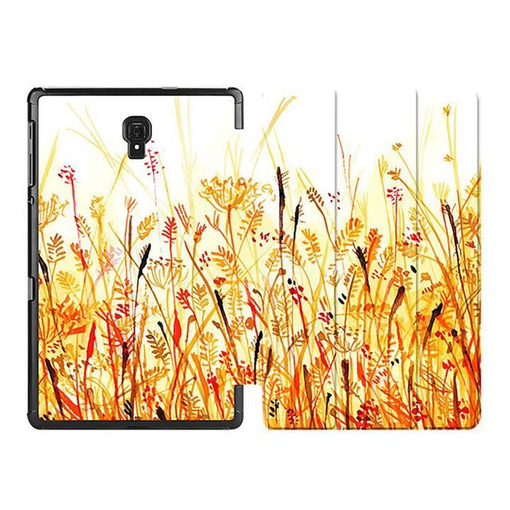 """EG MTT Custodia per Samsung Galaxy Tab A 8"""" 2019 SM-T290/T295/T297 - Fiore arancione"""