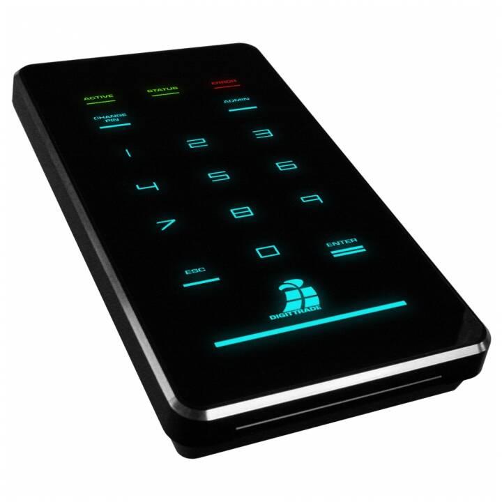 DIGITTRADE HS256 S3 (USB 3.1, 500 GB, Nero)